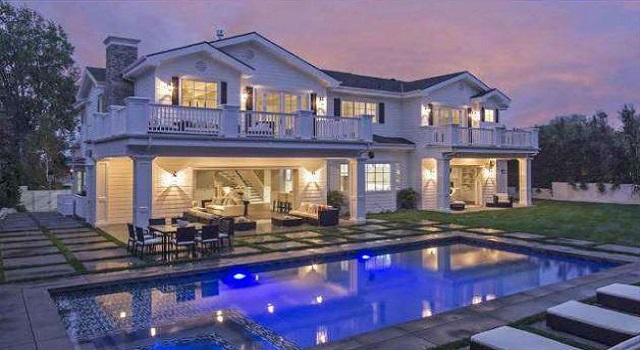 Blake Griffin's new luxury home in Pacific Palisades
