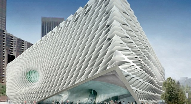 New projects for Los Angeles - 2015 New projects for Los Angeles – 2015 the broad exterior1