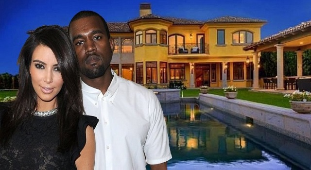 7 Most Amazing Rooms in Kimye's Bel Air Mansion 7 Most Amazing Rooms in Kimye's Bel Air Mansion kim kardashian kanye west house e1400705210170