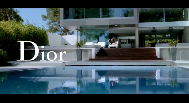 Snapshot in LA, house and swimming pool 'Snapshot in LA' by Marion Cotillard and Dior 'Snapshot in LA' by Marion Cotillard and Dior Dior