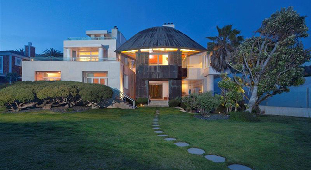 The Borman Malibu Estate by Frank Gehry