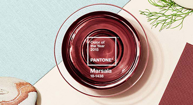 Pantone Color of the year 2015, Marsala Pantone Color of the year 2015, Marsala Pantone Color of the Year Marsala banner
