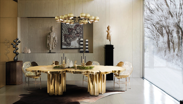 dining table The Most Magnificent Dining Table Designs Ever dining table