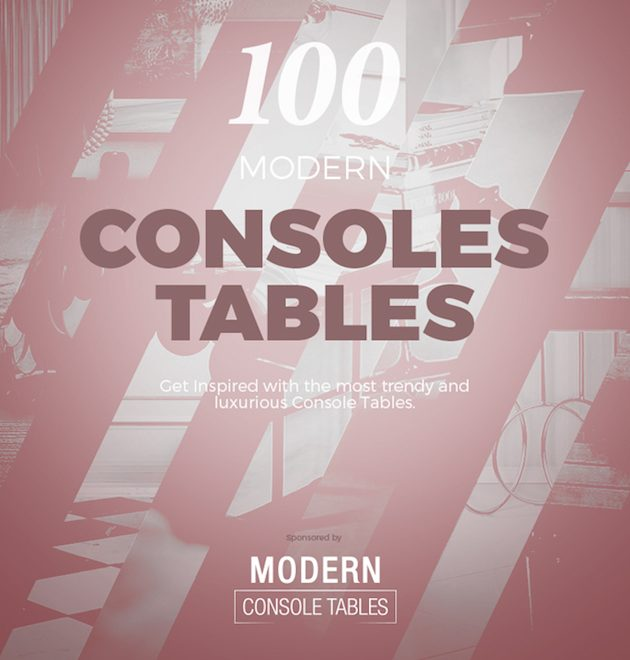 console tables Free eBooks: 100 Modern Console Tables console tables 2 630x660
