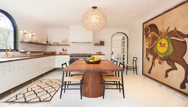 dining room Design Inspirations for a luxury dining room by Commune Design spanish style dining room