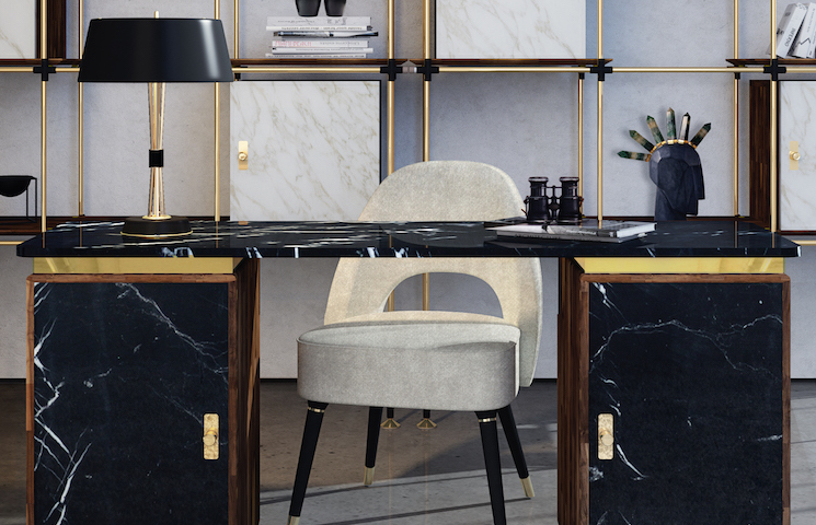 home office ideas 25 Inspirational Home Office Ideas and Color Schemes blake collins lasdun ambience