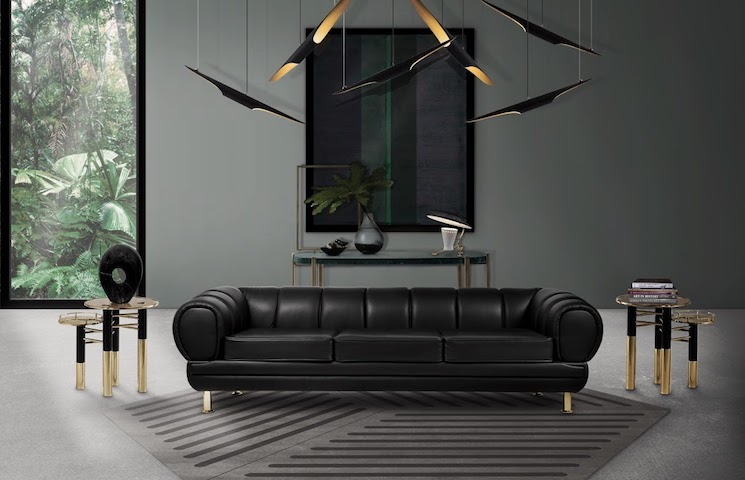 mid-century modern 10 Powerful Mid-Century Modern Homes by Famous Architects novak sofa ambience