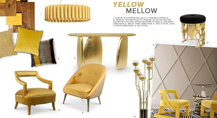 yellow Yellow: The Optimist Summer Color To Delight Your Decor Moodboard Yellow Mellow