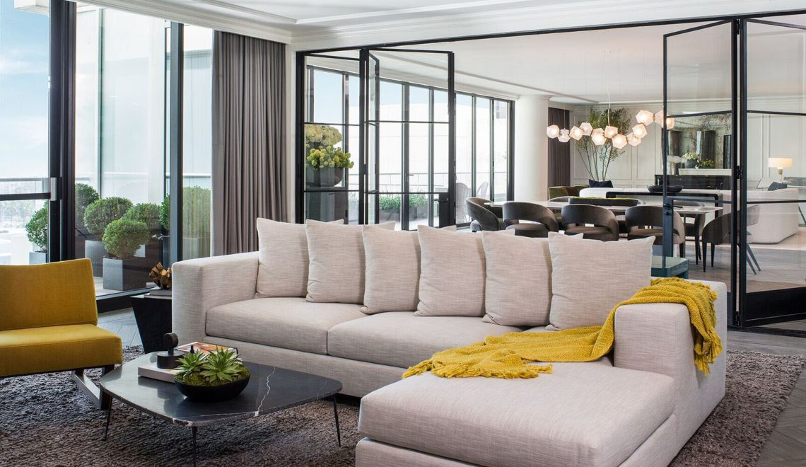 Meet This Luxury Penthouse In Hollywood By SFA Design