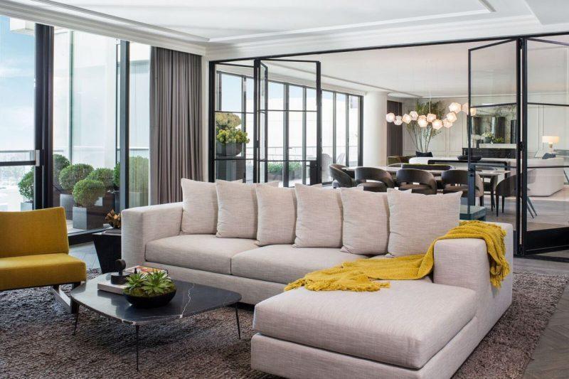 sfa design Meet This Luxury Penthouse In Hollywood By SFA Design Meet This Luxury Penthouse In Hollywood By SFA Design 4 e1571144717311