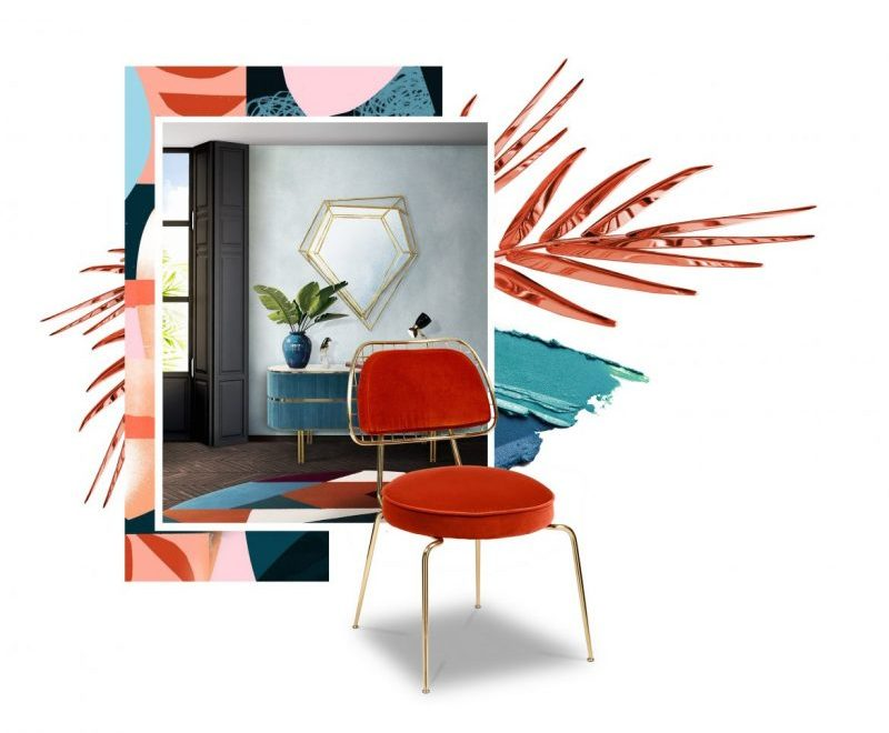 Find The Best Mid-Century Furniture Through Pantone Color Trends