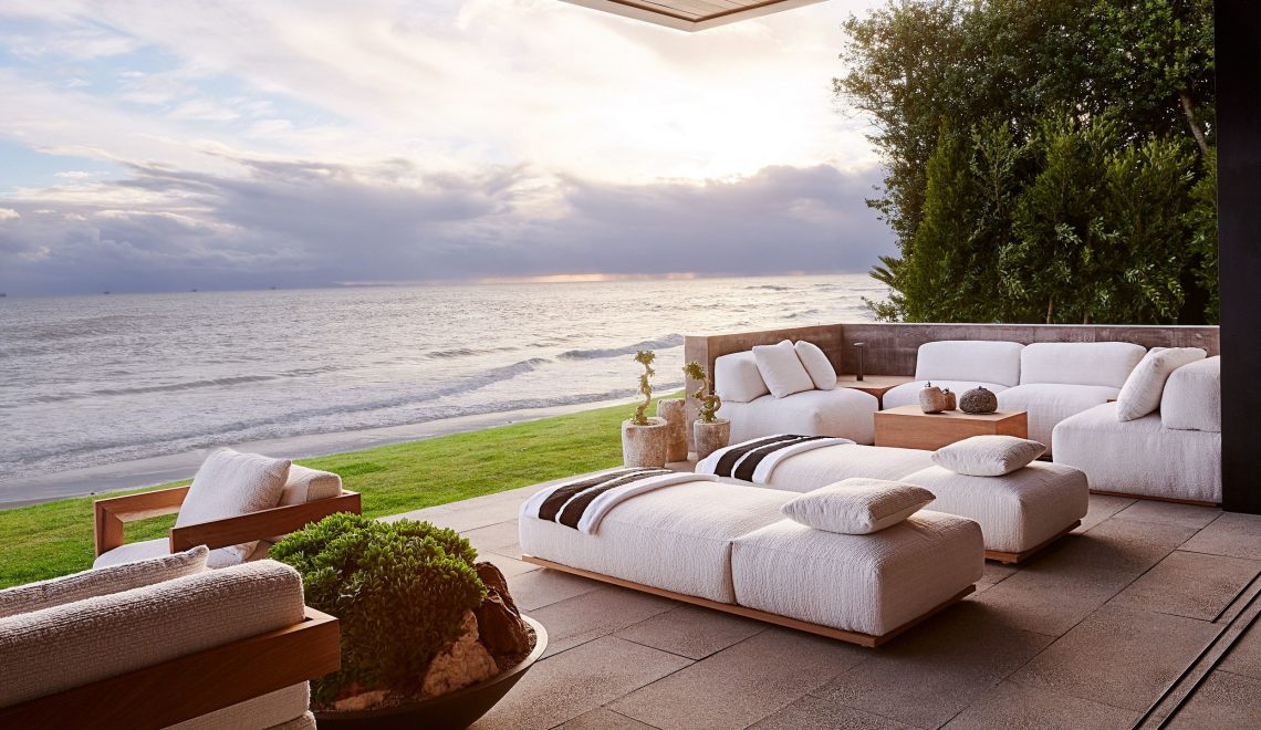 Gaze At Calvin Klein's Co-Founder Beachfront Santa Barbara Home